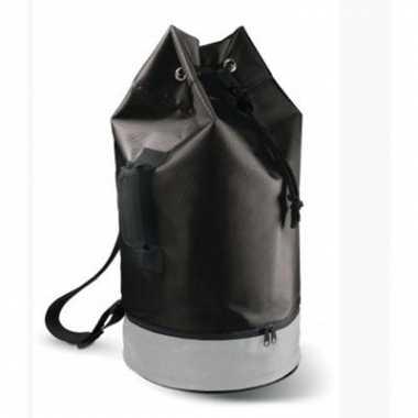 Duffle tas zwart 62 cm
